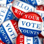 election day - your vote counts